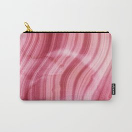 Summer Pink  Mermaid  Marble Carry-All Pouch