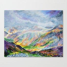 Llanberis Path Canvas Print