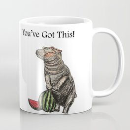 Fiona the Hippo You've Got This! Coffee Mug
