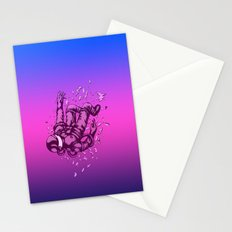 Astronaut 3 Stationery Cards