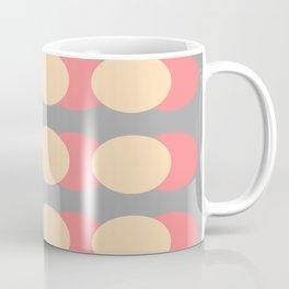 Modern Retro Style Spot Print Coffee Mug