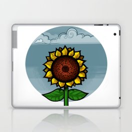kitschy sunflower Laptop & iPad Skin