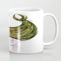 cancer Mugs featuring Cancer by Aloke Design