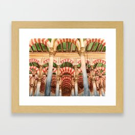 Mezquita de Cordoba - Spain Framed Art Print