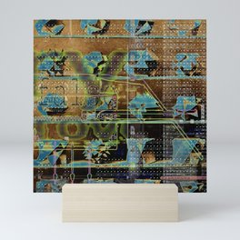 Glitch Cabinet Mini Art Print