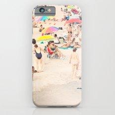 Beach Crowd iPhone 6s Slim Case