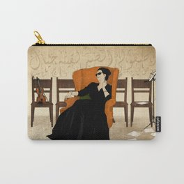 Umm Kulthum Carry-All Pouch