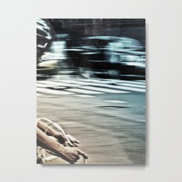 NYC Street Hustle Metal Print