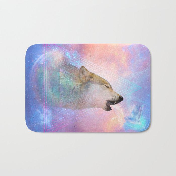 Dream By Day (Wolf Dreams - Remix Series) Bath Mat