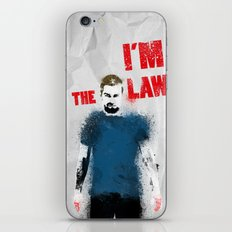 I'm the Law iPhone & iPod Skin