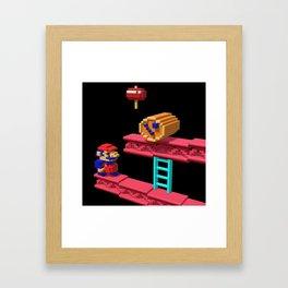 Inside Donkey Kong Framed Art Print