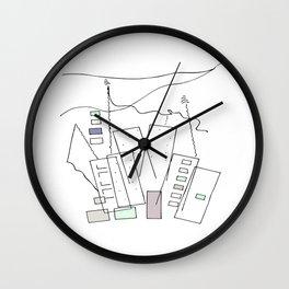 City Stories Wall Clock