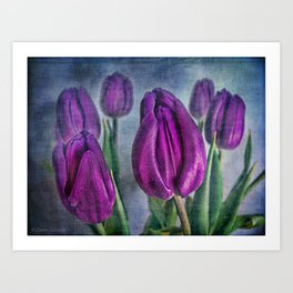 Deep Purple Art Print