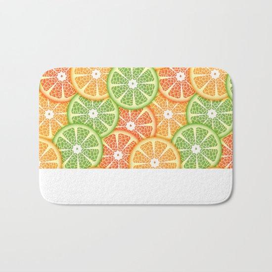 Citruses Bath Mat