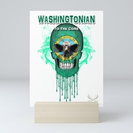 To The Core Collection: Washington Mini Art Print