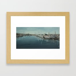 Marina Waters Framed Art Print