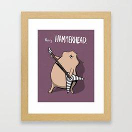 Harry Hammerhead Framed Art Print