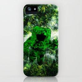 Feeling Strange iPhone Case