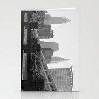 cleveland Stationery Cards featuring Cleveland Skyline  by TiffanyOneillPhotography