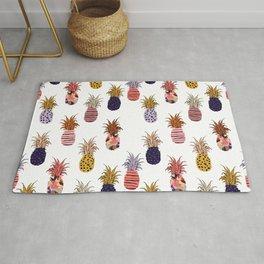 Funky Pineapple Pattern Rug