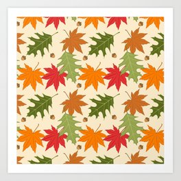 Autumn Day Art Print