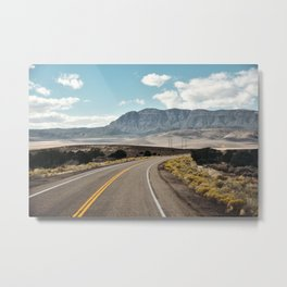 American Roadtrip. Utah State Highway, United States of America. Fine Art Travel Print. Wall Art. Metal Print
