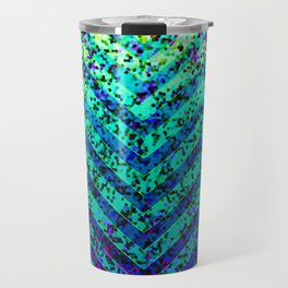 Zig Zag Sparkley Texture G230 Travel Mug