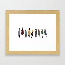 Les Amis de L'ABC Framed Art Print