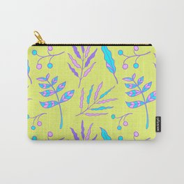 whimsical garden plants pattern Carry-All Pouch