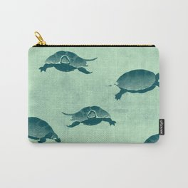 Down with the turtles Carry-All Pouch