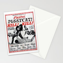 Faster Pussycat Kill Kill 1966 Cult Movie without background, Poster Artwork, Vintage Posters, Tshir Stationery Cards