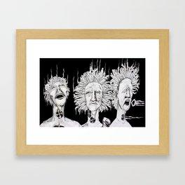 Puff, Puff, Pass Framed Art Print