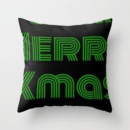 Merry Xmas 7 Throw Pillow