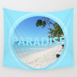 Paradise #PUERTORICO Wall Tapestry