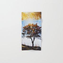 "Original Painting ""Foggy Sunrise"" Hand & Bath Towel"
