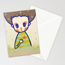 the little star in my heart Stationery Cards