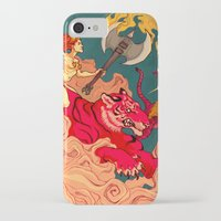 patriarchy iPhone & iPod Cases featuring The Conquering of Man by Henri Scribner