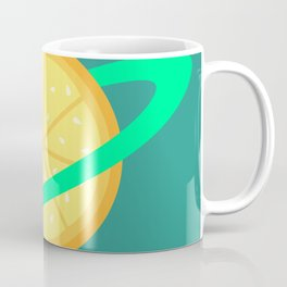 Planet Fruit: Orange | pulps of wood Coffee Mug