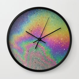 Rainbow shine Wall Clock