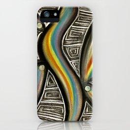 Prism Points iPhone Case