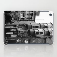 crowded street iPad Case