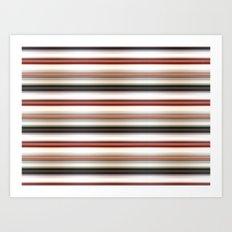Horizontal Lines Art Print