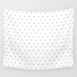 Birds Black And White Wall Tapestry