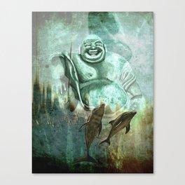 Buddha´s playground Canvas Print