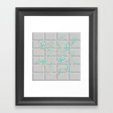 PushButton v.2 Framed Art Print