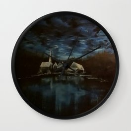 Reflection of souls Wall Clock