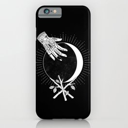 Waxing Crescent iPhone Case