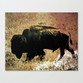 Golden hunt Canvas Print