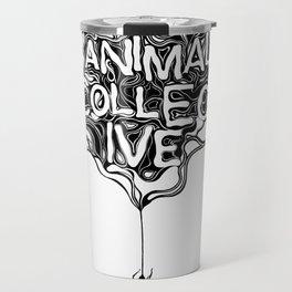 Animal Collective Travel Mug