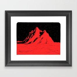 Pico rosso Framed Art Print